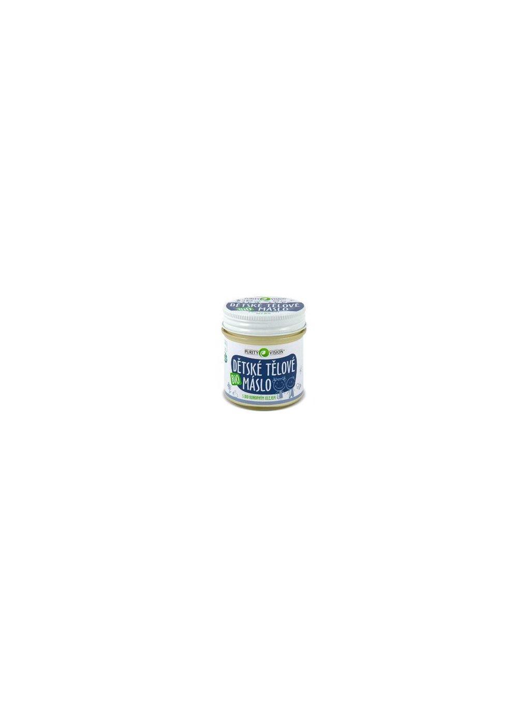 PURITY VISION Dětské tělové máslo BIO 120 ml
