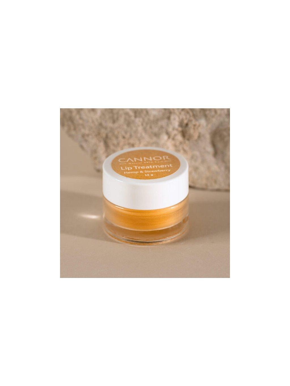 cannor.cz přírodní konopná kosmetika kosmetika s CBD Intenzivní balzám na rty 600x600