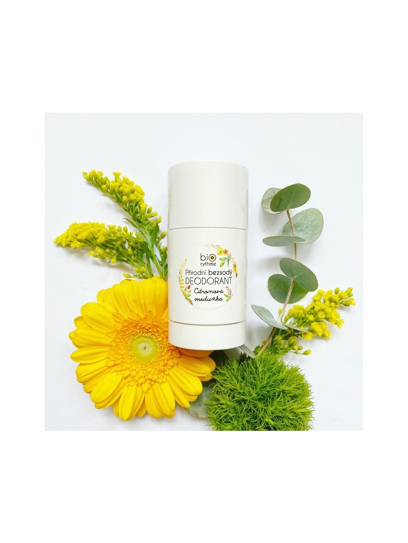 Přírodní BEZSODÝ deodorant Citronová meduňka