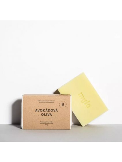 Avokádová oliva mýdlo na citlivou pokožku