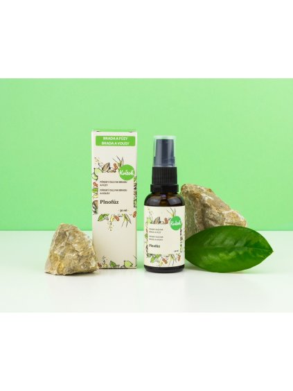 Ošetřující olej na bradu a vousy Plnouvous