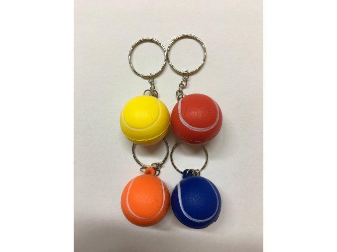 Míče tenisové barevné malé