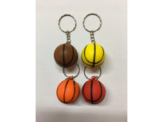 Míče basketbalové barevné malé