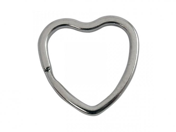 krouzek na klice srdce