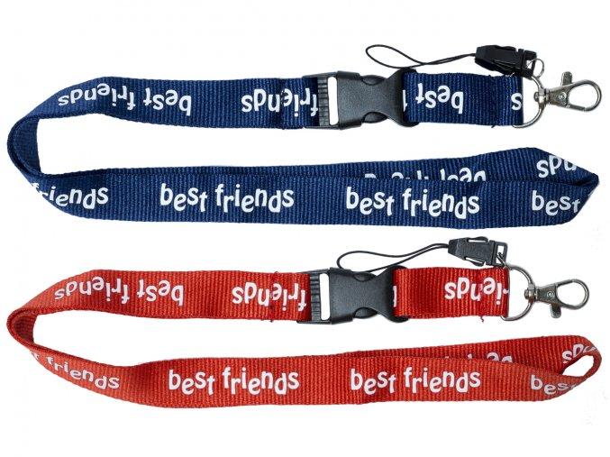 Popruh dlouhý Best Friends