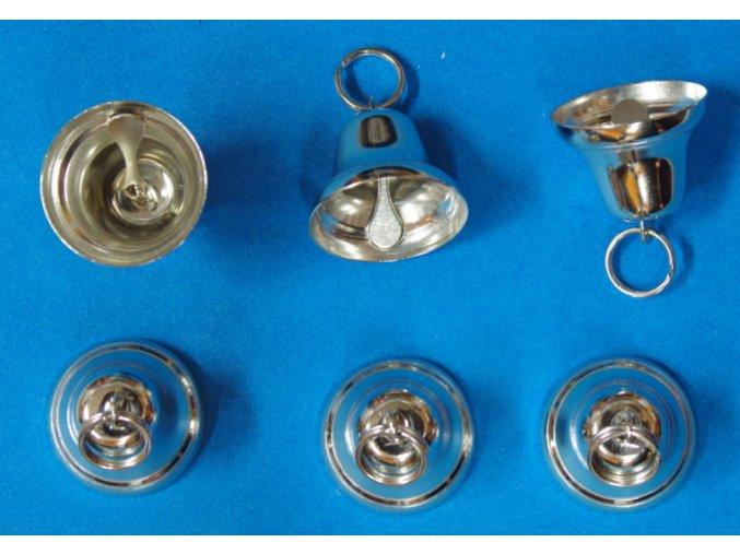 Zvonek stříbrný 32mm