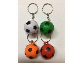 Míče fotbalové barevné malé