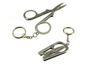 64701 folding scissor keychain composite