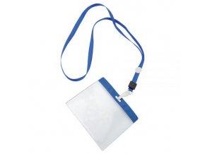 Pouzdro na ID kartu, plast, popruh,10,3x7,7mm