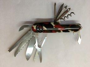 Nůž maskáč multifunkční