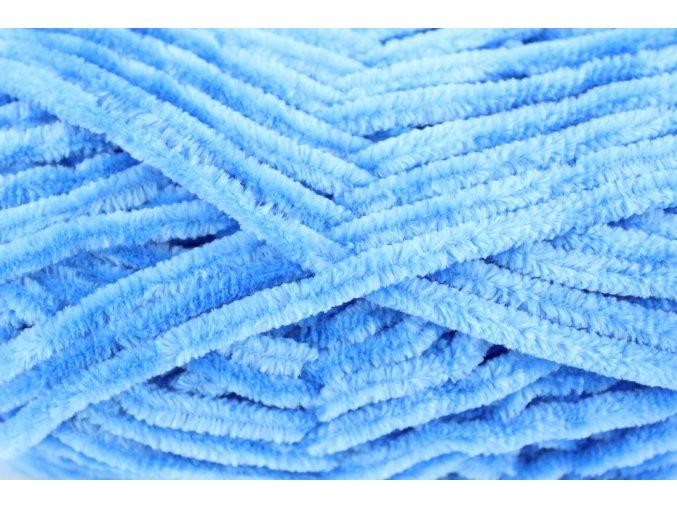 VELVET 90027 nebesky modrá