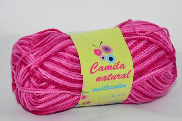Camila natural multicolor