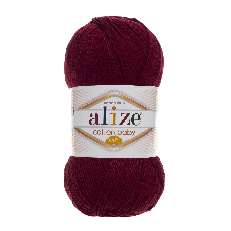 Cotton baby soft - 55% akryl, 45% bavlna