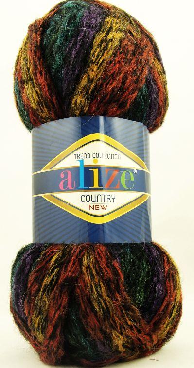 Country - pletení na rukou