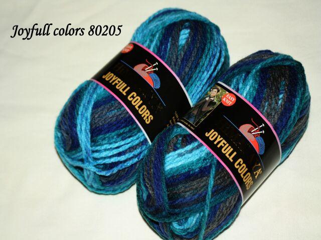 Joyfull colors - zimní akryl