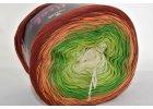 Soft cake yarn