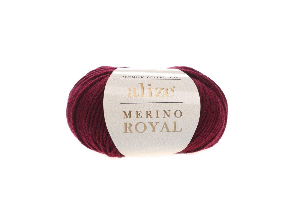 Merino royal 323 tm.vínová