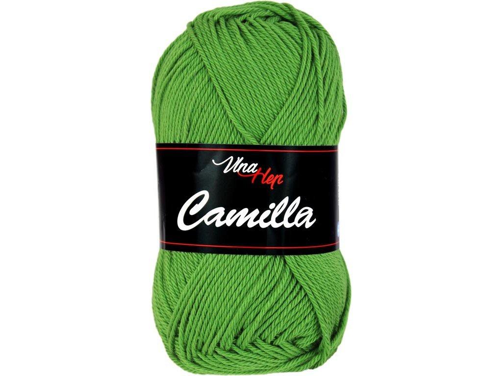 Příze Camilla 8156 trávová zelená