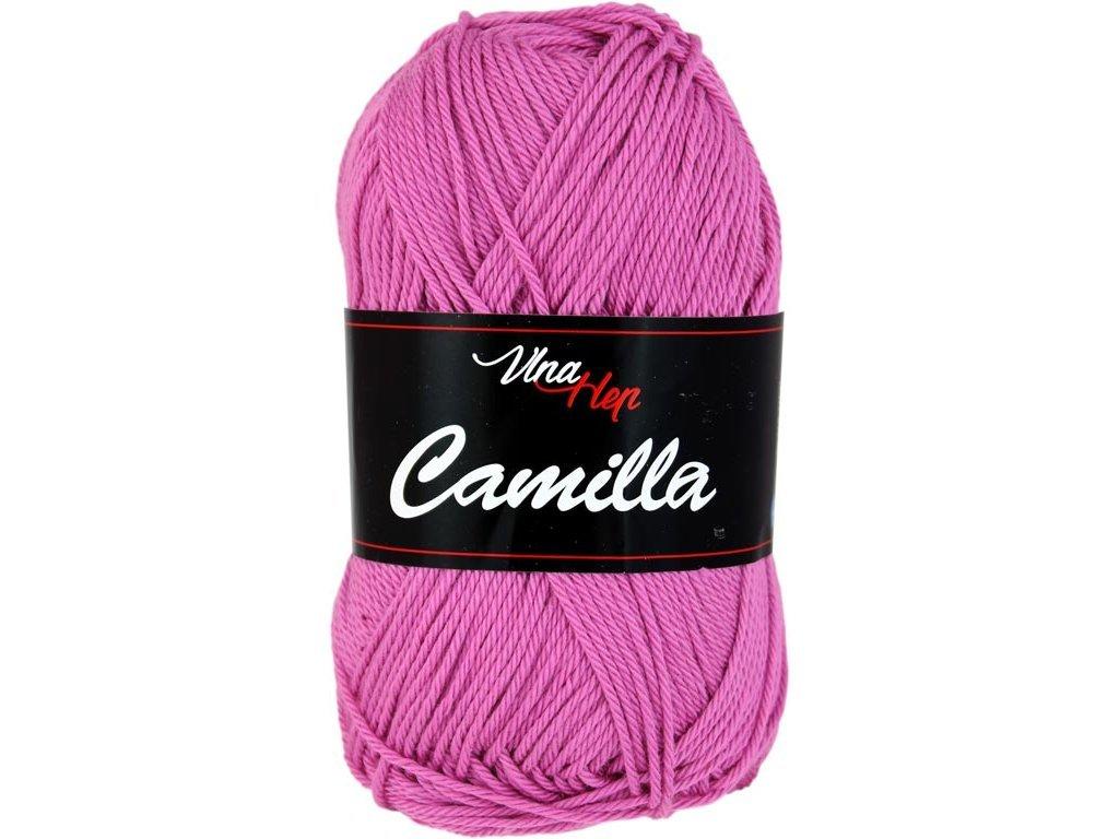 Příze Camilla 8045 růžovo-fialová
