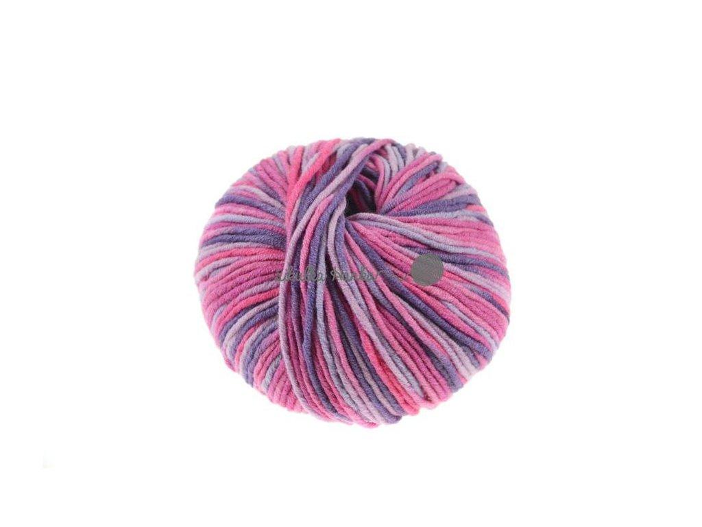 Příze Toptex Kateřina Plus 2360 fialovo-růžová