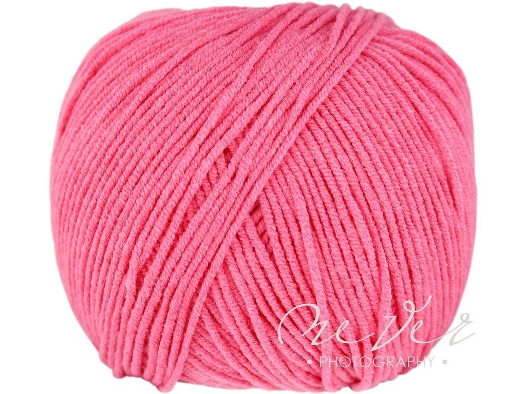 Jeans - Vlna Hep 8033 růžová
