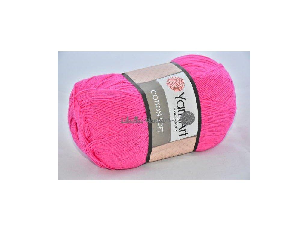Cotton soft 42 růžová