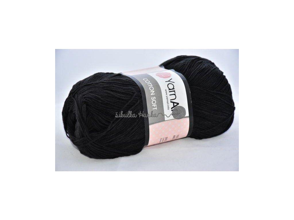 Cotton soft 53 černá