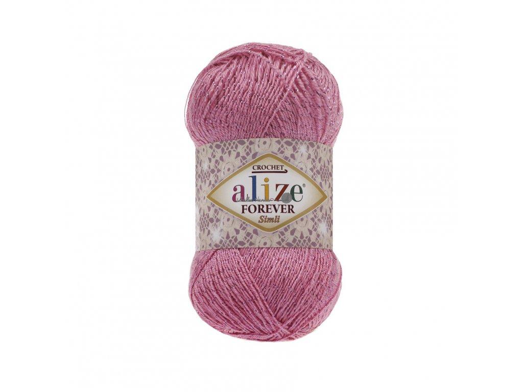 Alize Forever simli 39 sladká růžová