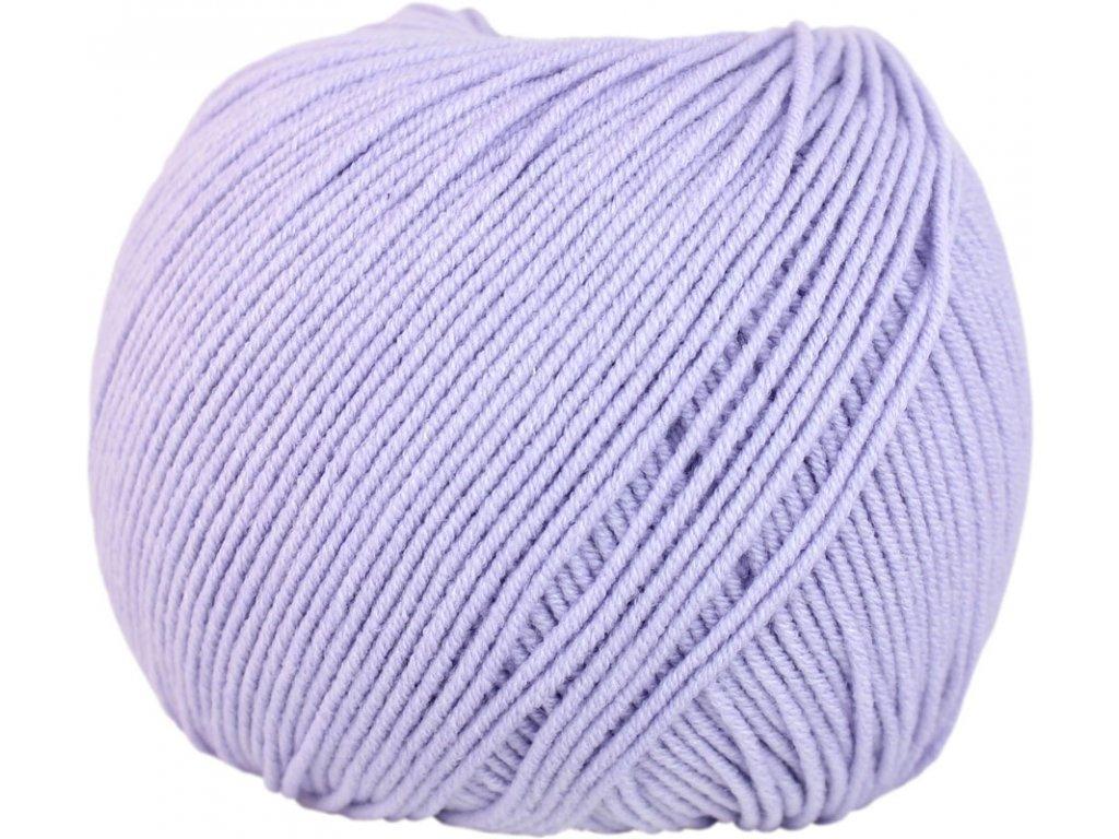 Jeans - Vlna Hep 8072 světle fialová