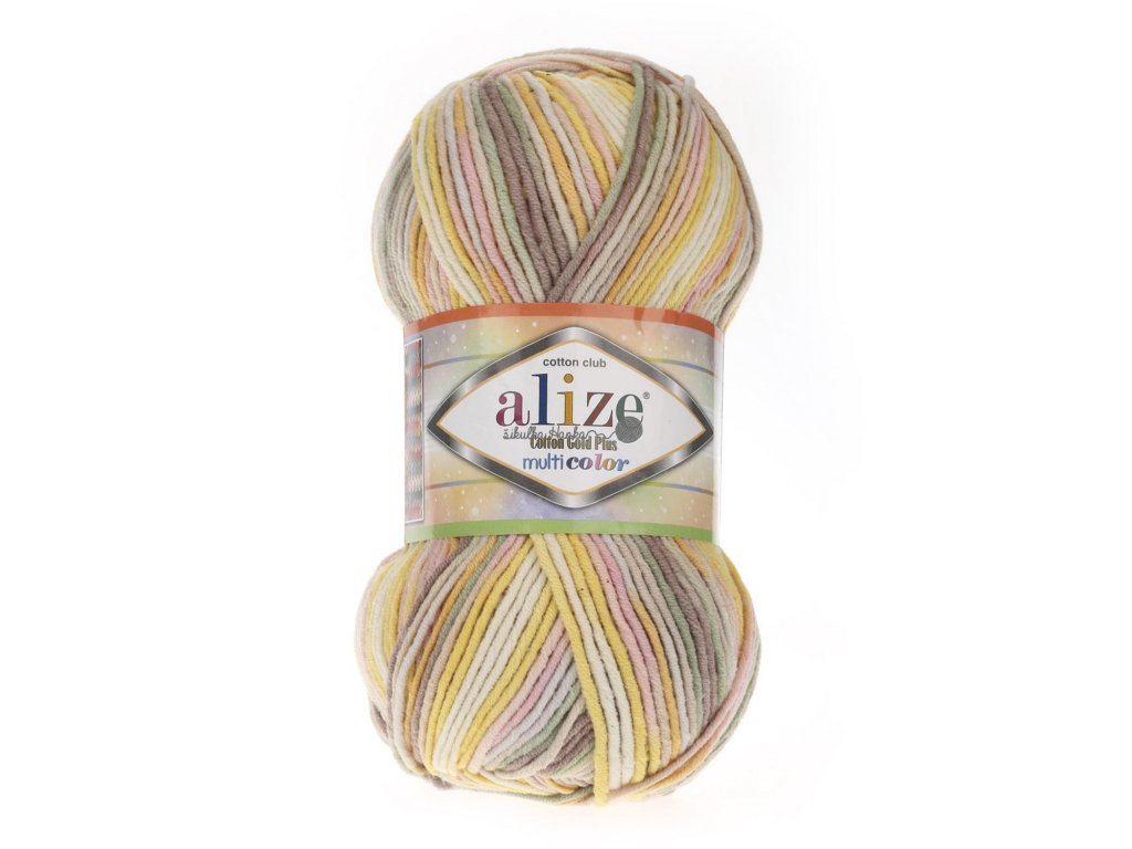 Cotton gold plus multicolor 52175