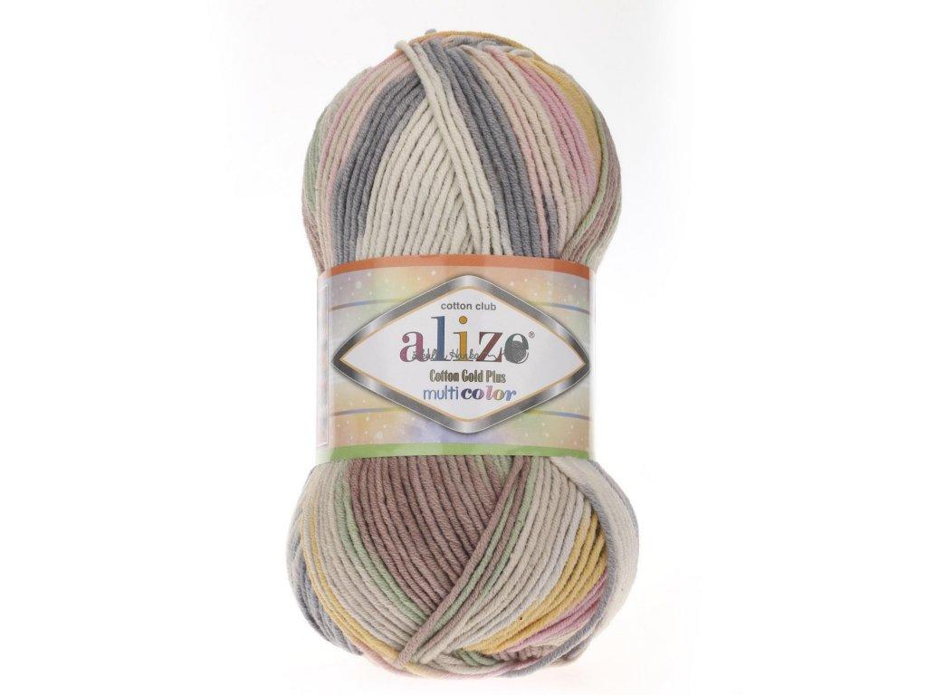 Cotton gold plus multicolor 52204