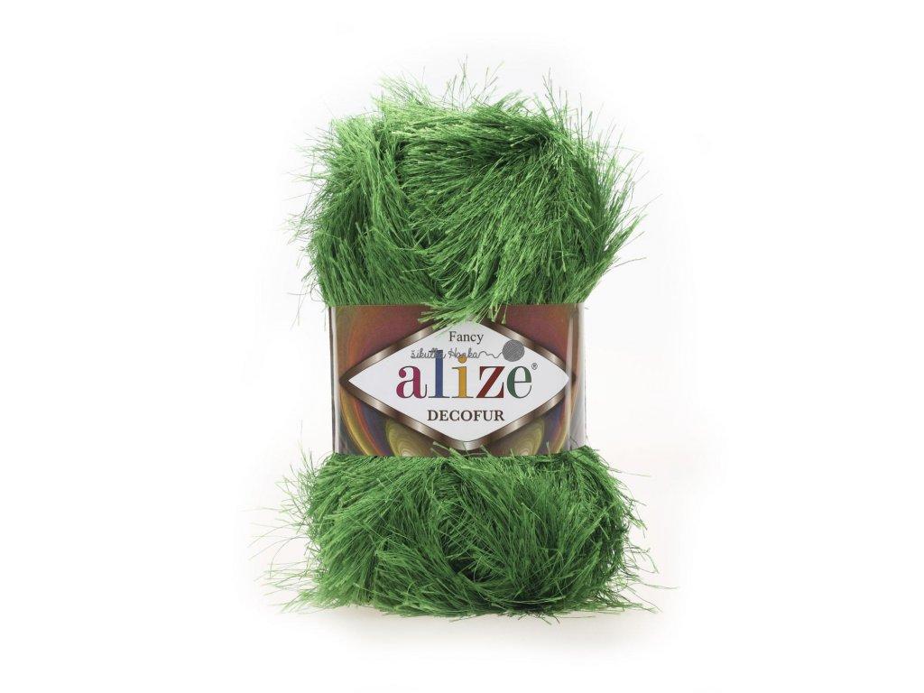 Alize Decofur 595 trávová zelená