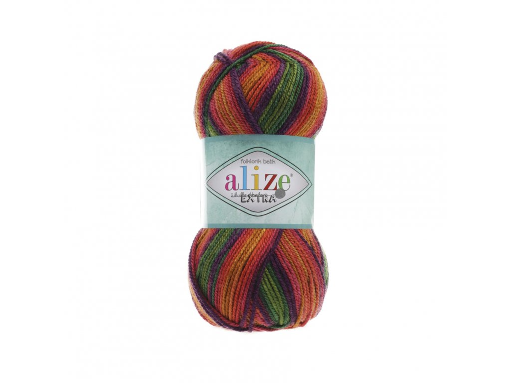 Alize Extra folklorik batik 4895