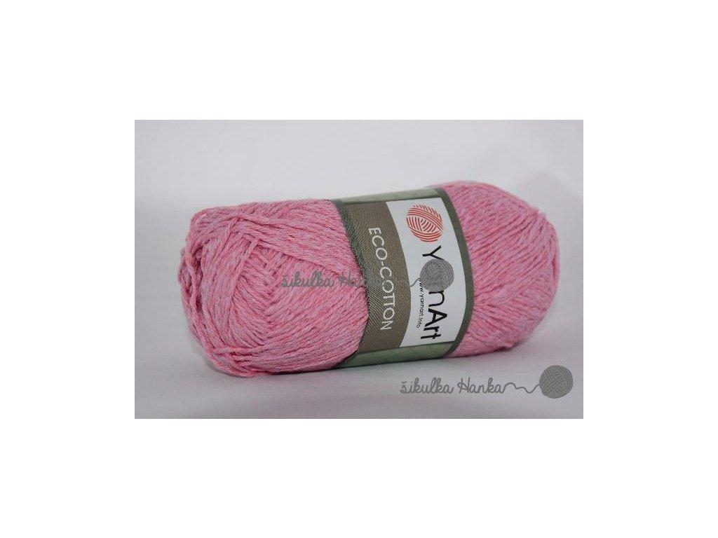 Eco cotton 766 sv. růžová