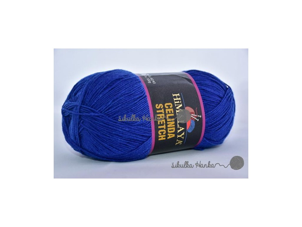 Celinda stretch 17 královská modrá