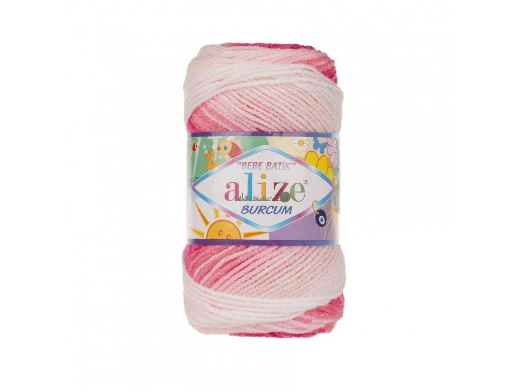 Burkum bebe batik 2164 růžovo-bílá