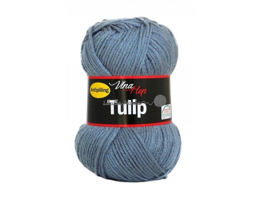 Příze Tulip 4092 modro-šedá