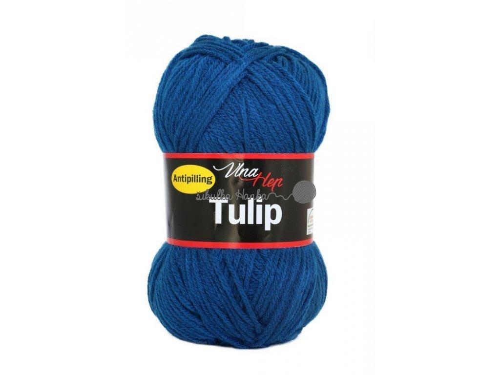 Příze Tulip 4103 tm.modrá