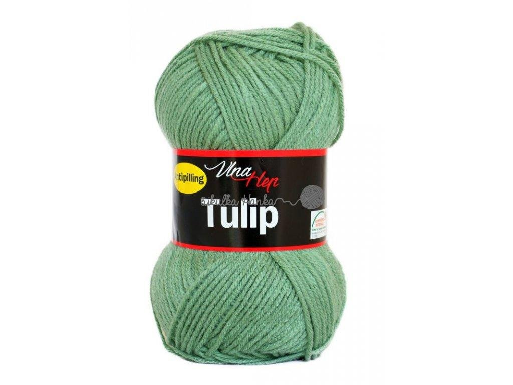 Příze Tulip 4135 zelená