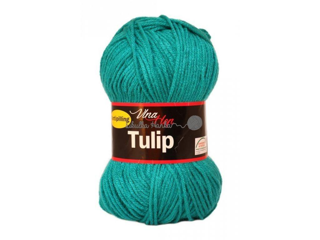 Příze Tulip 4139 smaragdová