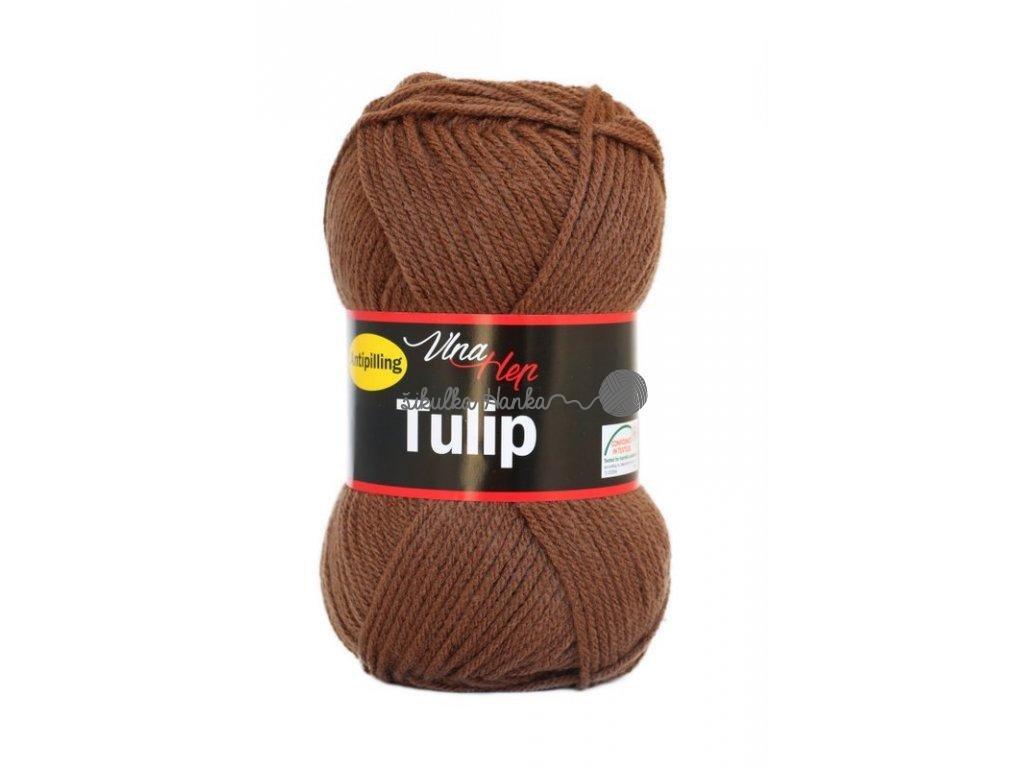 Příze Tulip 4228 tm.hnědá