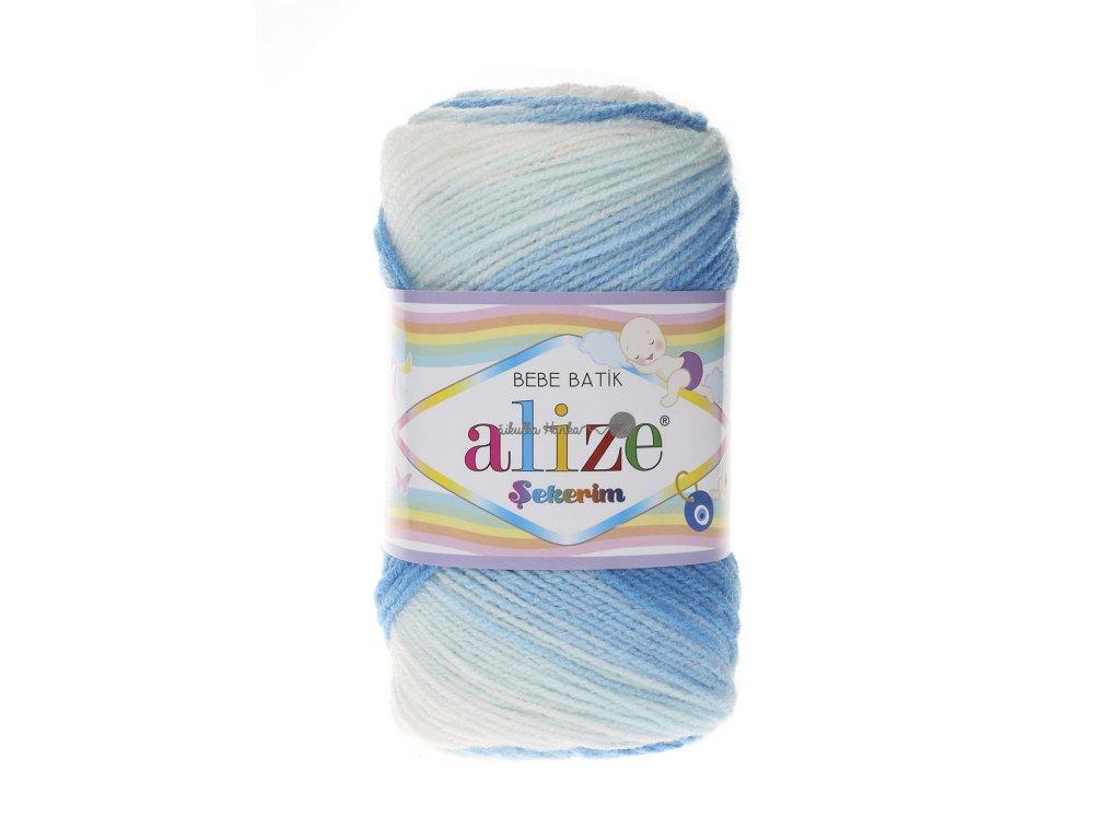 Sekerim bebe batik 2130 modro-bílá