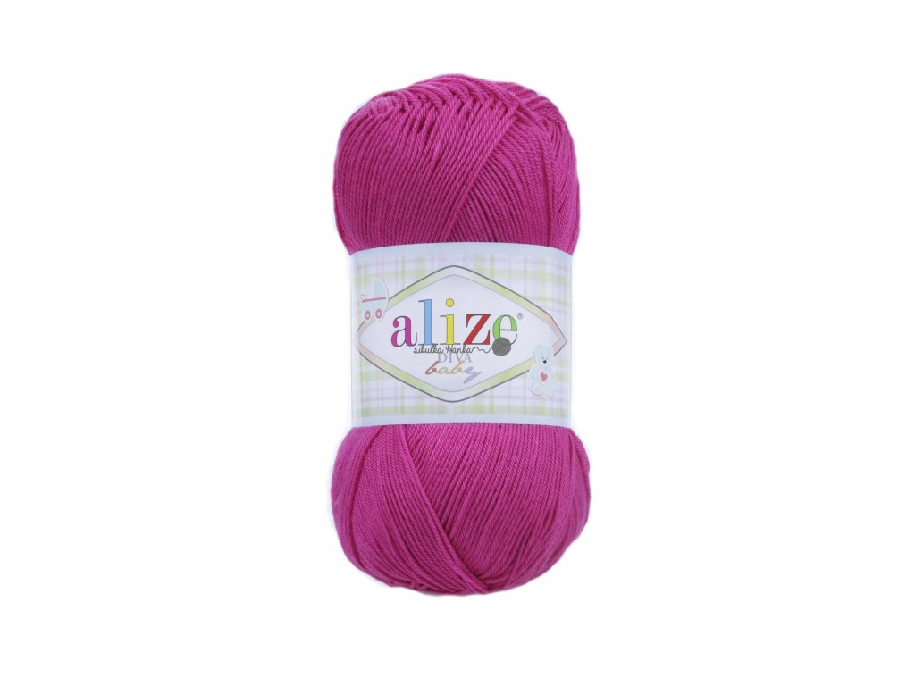 Alize Diva baby 149 fuchsiová