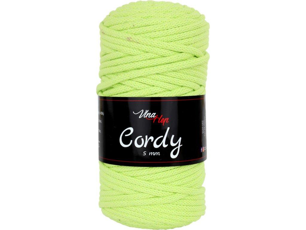 Cordy šňůry - cappucino