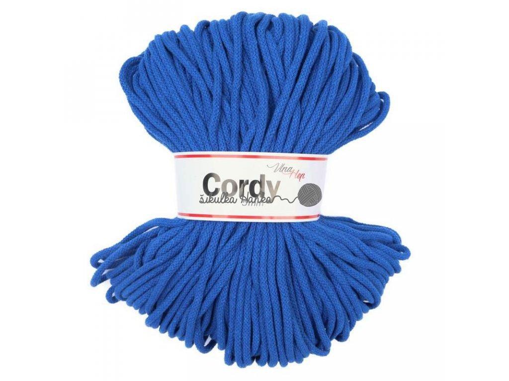Cordy šňůry - královská modrá