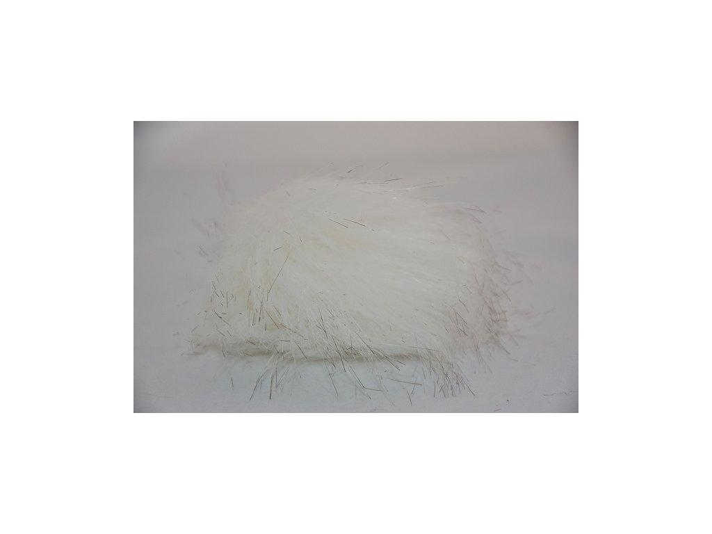 Bambule 8cm 01 bílá s melírem