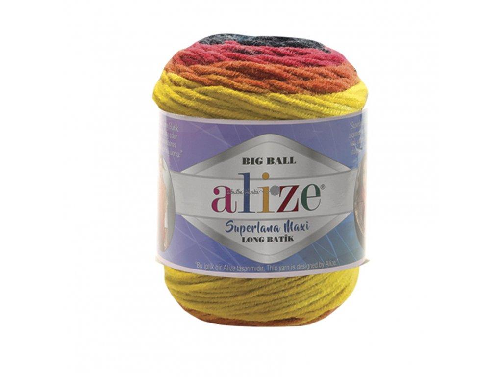 Superlana maxi long batik 6782 barevná