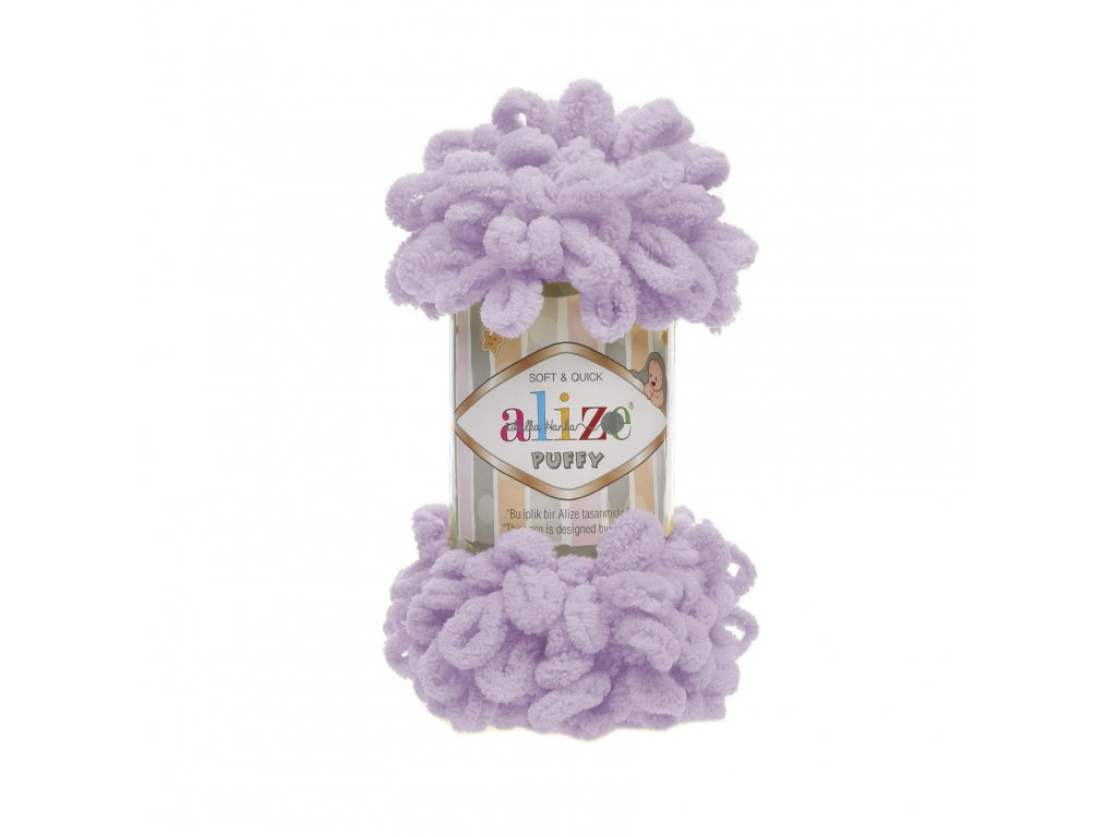 Puffy 27 lila