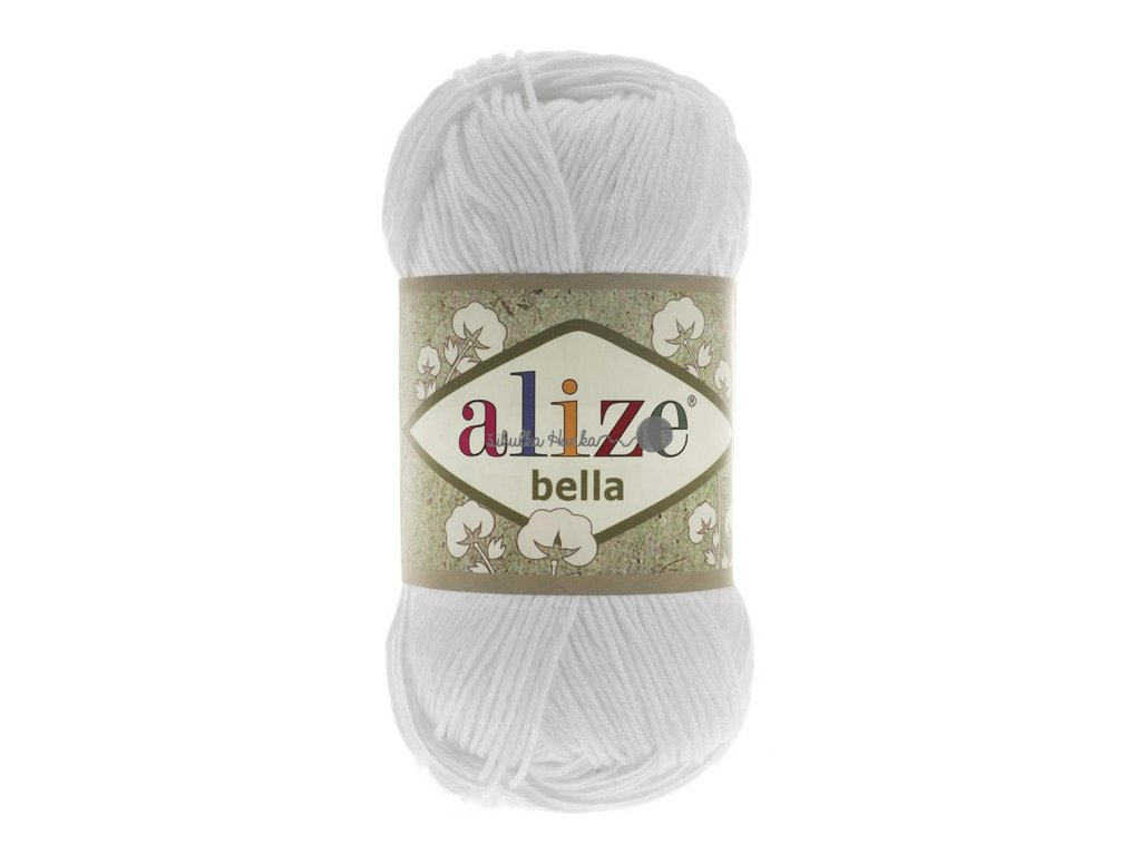 Příze Alize Bella 55 bílá