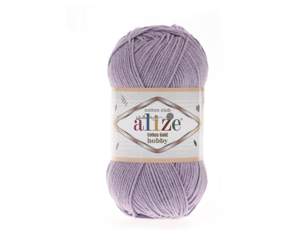 Cotton gold hobby 166 lila
